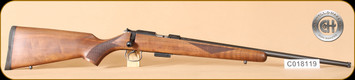 "Cogswell & Harrison - 17HMR - Certus - Walnut/Blued, adjustable trigger pull, 2 sling studs, 1/2"" UNF muzzle threading, 20"" - h"