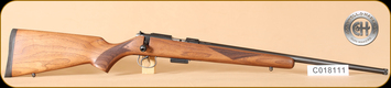 "Cogswell & Harrison - 17HMR - Certus - Walnut/Blued, adjustable trigger pull, 2 sling studs, 1/2"" UNF muzzle threading, 20"" - j"