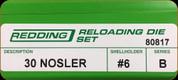 Redding - Full Length Sets - 30 Nosler - 80817
