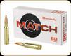 Hornady - 308 Win - 155 Gr - Match - ELD - 20ct - 80956