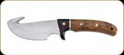 "Boker - Magnum Elk Hunter Gut Hook w/ Leather Sheath - 4.4"" Blade - 440A Steel - 02GL686C"