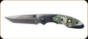 "US Army - Liner Lock Knife - 3.1"" Blade - 400 Series Steel/Titanium Coated - Digital Camo"