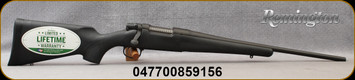 "Remington - 243Win - Model Seven - BlkSyn/Bl, 18"" Barrel - Mfg# 85915"