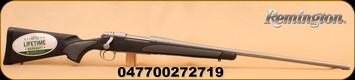 "Remington - 7mmRemMag - Model 700 - SPS Stainless, BlkSyn/SS, 26"""