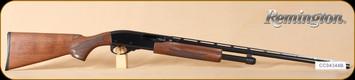 "Remington - 28Ga/2.75""/25"" - Model 870 Wingmaster Lightweight - Small Bore - Pump Action Shotgun - Walnut Stock/Blued Finish, 4 Rounds, Mfg# 24983"