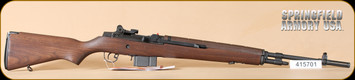 "Springfield - 308Win - M1A MA9102 - Walnut/Blued, 22"" - c"