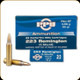 PPU - 223 Rem - 55 Gr - Full Metal Jacket Boat Tail - 20ct
