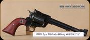 """Ruger - 44Mag - Super Blackhawk - Wd/Blk, 7.5"""", Mfg# 00820"""