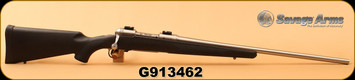 """Consign - Savage - 270WSM - Model 16 - Black Synthetic/Stainless, 24"""", Weaver bases"""