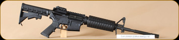 "Colt - 5.56NATO -LE6920 -  BlkSyn/Bl, retractable stock, 16"" - Restricted"