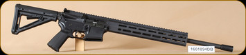 "Colt - 5.56NATO - MRR - BlkSyn/Bl, Magpul M-Lock forend, MOE grip & buttstock, 18.6"" - Restricted"