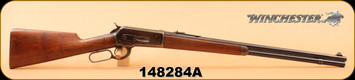 """Consign - Winchester - 33WCF - 1886 - Wd/Bl, 24"""" bbl, s/n 148284A"""