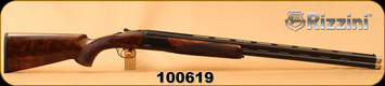 """Consign - Rizzini - 12Ga/3""""/30"""" - Round Body Sporter - O/U - Select Turkish Walnut/Black Receiver/Blued, Single selective trigger, New in case with chokes & Accessories"""
