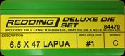 Redding - Deluxe Die Set - 6.5/47 Lapua - 84479