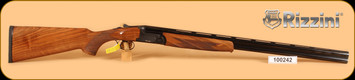 "Used - Rizzini - 20Ga/3""/28"" - BR110 - Over/Under - Select Turkish Walnut/Matte Black Receiver/Chrome-lined, Gloss Blued Barrels - In original hard case"