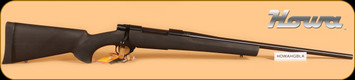 "Howa - 30-06Sprg - 1500 Hogue - Black Hogue Overmold Stock/Blued, 22""Barrel, 5 Rounds"