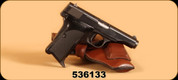 """Consign - Browning - 32ACP - Model 1955 - 3.5"""", FN Stamped Slide, c/w Leather Pouch Holster and Spare Mag - B93 (Prohibited)"""