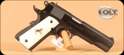 "Colt - 45ACP - Series 70 Gov't - Simulated Ivory/Blued, 2 Mags, 5"", O1970A1Z"