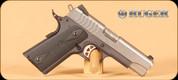 """Ruger - SR1911 - 9mm - SS Slide/Blk Frame, 2 Mags, 4.2"""""""