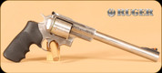 """Ruger - 454Casull - Super Redhawk - Double Action Revolver - Black Hogue Grips/Stainless, 9.5""""Barrel, Mfg# 05508"""