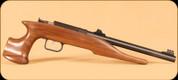"""Chipmunk - Hunter Single Shot Pistol - 22LR - Walnut/Blued, 10.5"""" Barrel"""