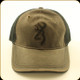Browning - Hat - Size Adjustable - Flint Gray