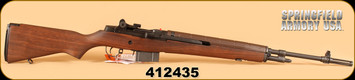 "Springfield - 308Win - M1A MA9102 - Walnut/Blued, 22"" - b"