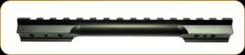 Ken Farrell - Cooper 52 Post 2007 - Steel - Matte Black - 0 MOA - 8-40 Screws