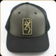 Browning - Hat - Size Adjustable - Hudson Black