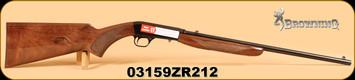 """Browning - 22LR - SA-22 - Grade 1, 19.375"""", s/n: 03159ZR212"""