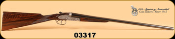 "AYA - 20Ga/2-3/4""/27"" - No 2 - Old Silver, English Stock, Splinter Forend,  IC/M"
