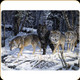 """River's Edge - Wolves - Tempered Glass Cutting Board - 12""""x16"""" - 756"""