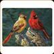 "River's Edge - Cardinal - Tempered Glass Cutting Board - 12""x16"" - 757"