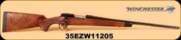 "Winchester - 7mm-08Rem - Model 70 - Super Grade, Wd/Bl, 22"", S/N: 35EZW11205"