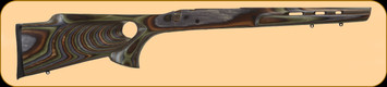 Boyds - Remington 783 LA - Featherweight Thumbhole - Factory Barrel Contour - Forest Laminate
