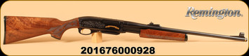 "Remington - 30-06Sprg - 7600 - 1 of 2016, Wd/Bl, High Gloss, Engraved, 22""bbl"