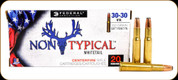 Federal - 30-30 Win - 150 Gr - Non-Typical Whitetail - Jacketed Soft Point Flat Nose - 20ct - 3030DT150
