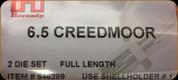 Hornady - Full Length Dies - 6.5 Creedmoor - 546289