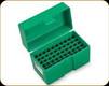 RCBS - Ammo Box - Small Rifle Calibers - 50rd - Green - 86901