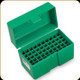 RCBS - Ammo Box - Large Rifle Calibers - 50 rnds - Green - 86903