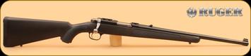 """Ruger - 44RemMag - 77/44 - Black Synthetic/Blued, 18.5""""Barrel - Model #07403"""