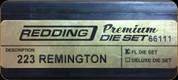 Redding - Premium Full Length Die Set - 223 Remington - 66111