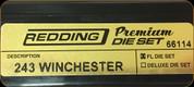 Redding - Premium Full Length Die Set - 243 Winchester - 66114