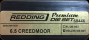 Redding - Premium Deluxe Die Set - 6.5 Creedmoor - 68446