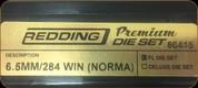 Redding - Premium Full Length Die Set - 6.5MM/284Win (Norma) - 66415