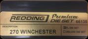 Redding - Premium Full Length Die Set - 270 Winchester - 66135