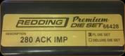 Redding - Premium Full Length Die Set - 280 Ackley Improved - 66428