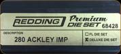 Redding - Premium Deluxe Die Set - 280 Ackley Improved - 68428