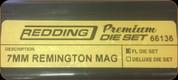Redding - Premium Full Length Die Set - 7MM Remington Mag - 66136