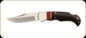 Boker - Lockback Hunter - 7cm Blade - 440 Stainless - Natural Wood Handle - 01GL802C